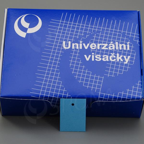 Visačky 3040 bez tisku modré, 2.000 ks
