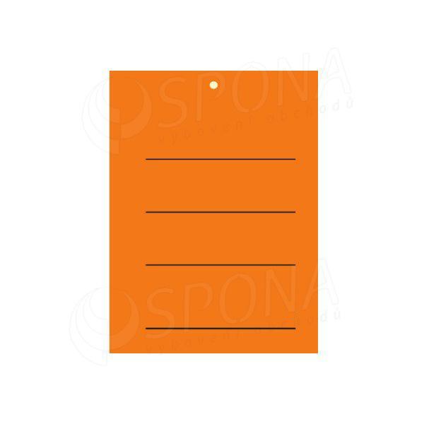 Visačky 3040 s tiskem oranžové, 2.000 ks