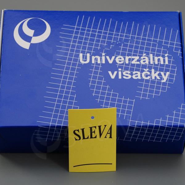 """Visačky 4060 tisk """"SLEVA"""" žluté, 1.000 ks"""