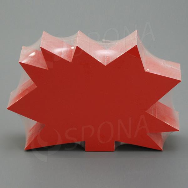 Visačky DREAMER Ježek 120 x 80 mm, červené, 90 ks