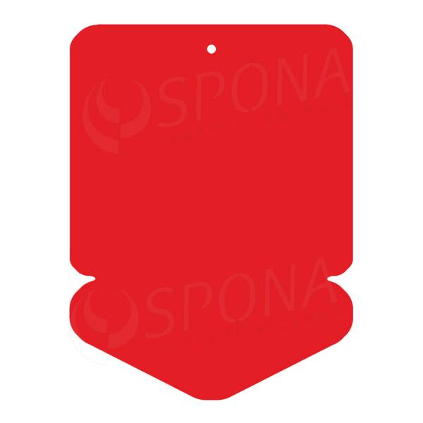 Visačky DREAMER ŠIPKA 43 x 60 mm, červené, 250 ks
