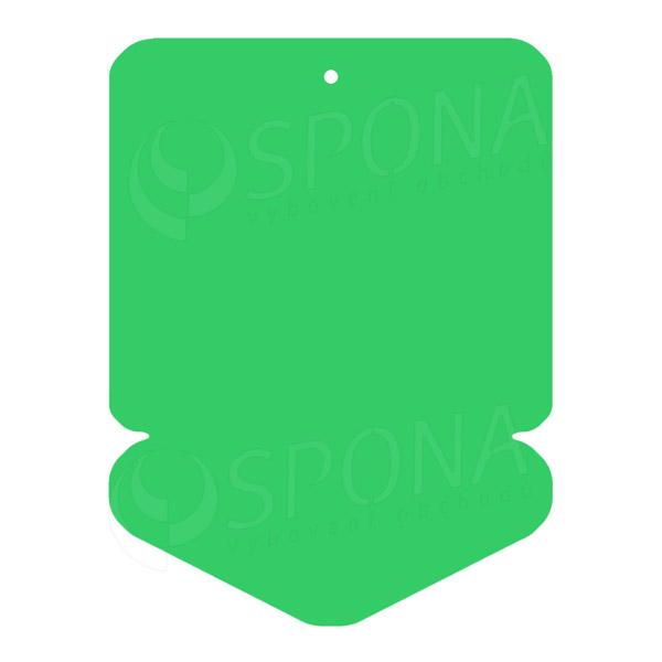 Visačky DREAMER ŠIPKA 57 x 82 mm, zelené, 160 ks