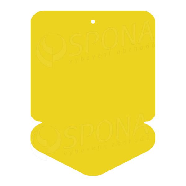 Visačky DREAMER ŠIPKA 57 x 82 mm, žluté, 160 ks