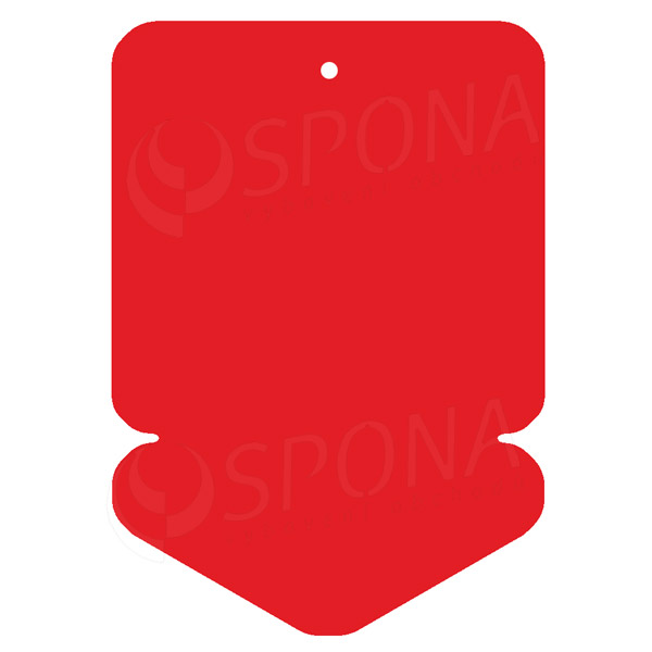 Visačky DREAMER ŠIPKA 105 x 148 mm, červené, 50 ks