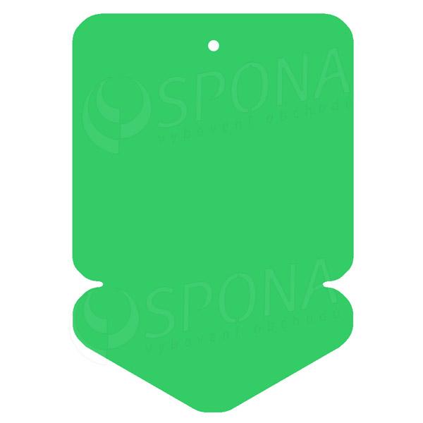 Visačky DREAMER ŠIPKA 105 x 148 mm, zelené, 50 ks