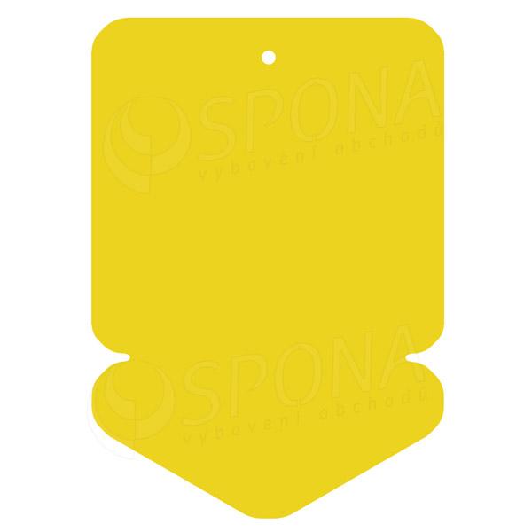 Visačky DREAMER ŠIPKA 105 x 148 mm, žluté, 50 ks
