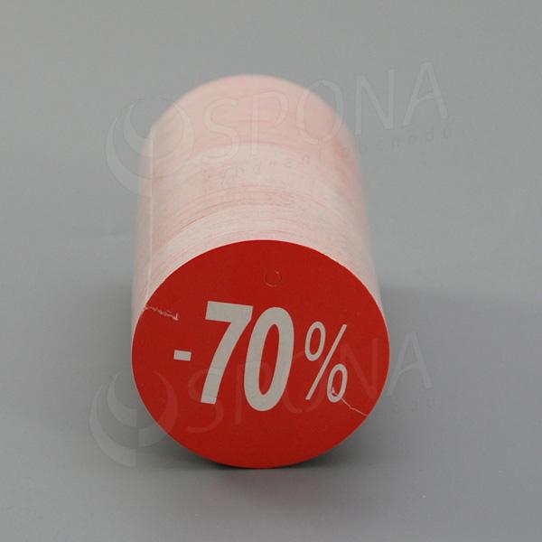 """Visačky SKONTO KRUH 45, """"-70%"""", červené, 180 ks"""