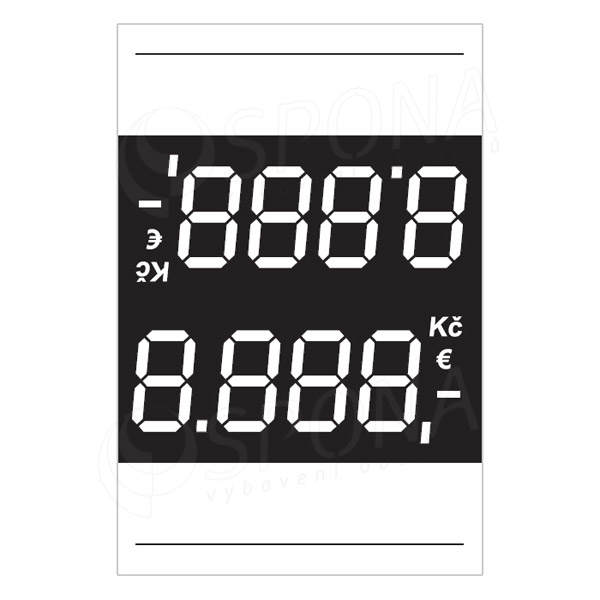 Cenovky 4537, 100 ks