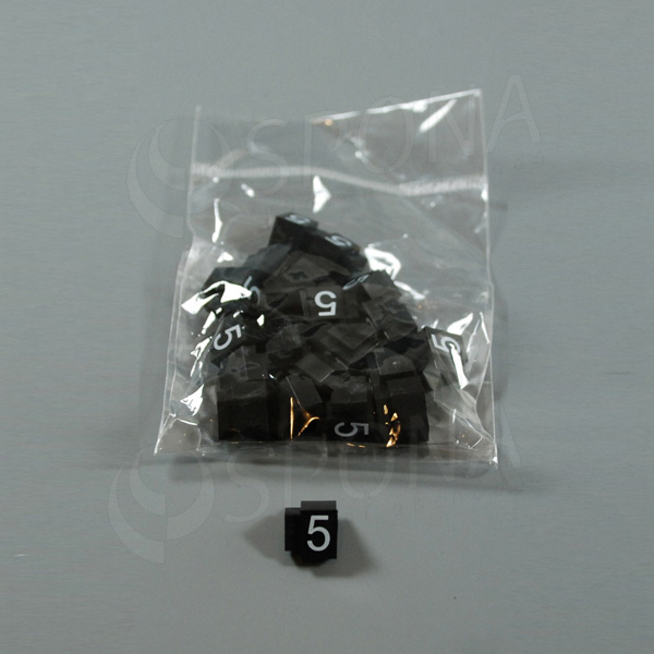 Cenovky Q 3, 6 x 9 mm, náhradní číslo 5, 20 ks