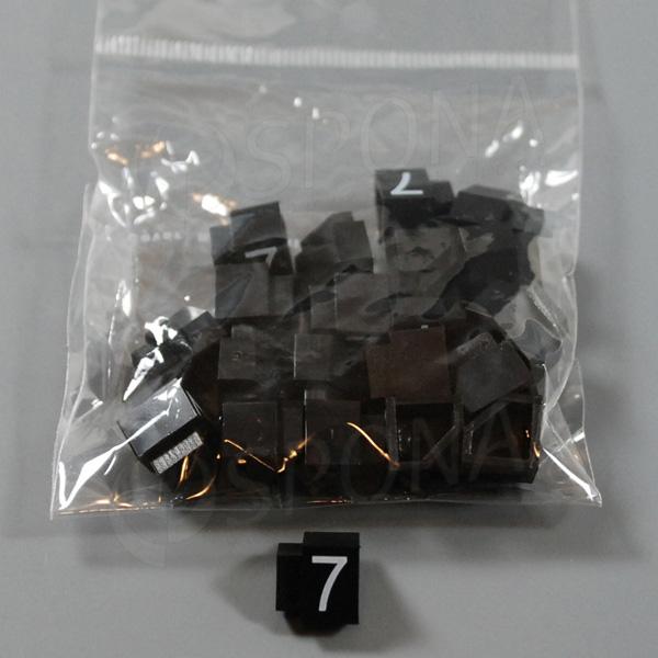 Cenovky Q 3, 6 x 9 mm, náhradní číslo 7, 20 ks