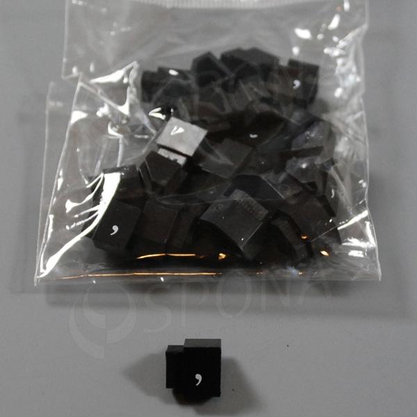 Cenovky Q 3, 6 x 9 mm, náhradní čárka, 20 ks