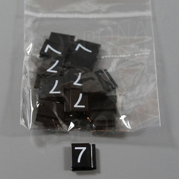 Cenovky Q 6, 8 x 12 mm, náhradní číslo 7, 20 ks