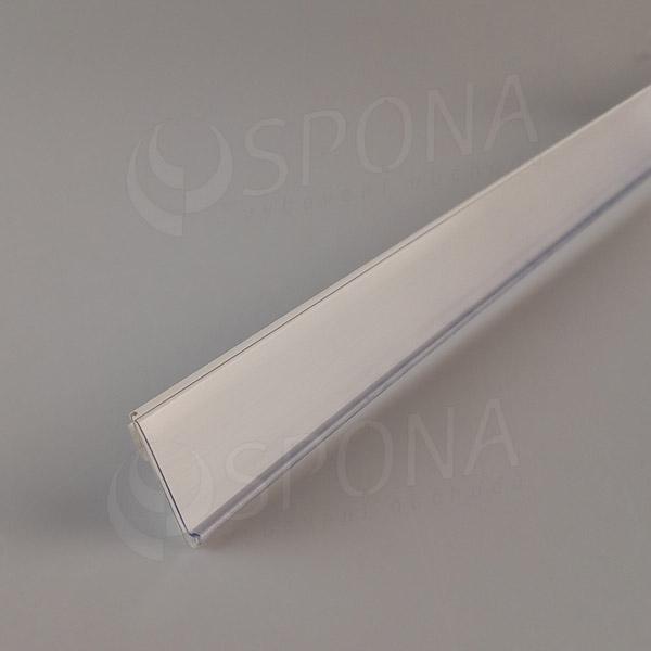 Cenovková lišta čelní 30 x 1250 mm, samolepicí, bílá