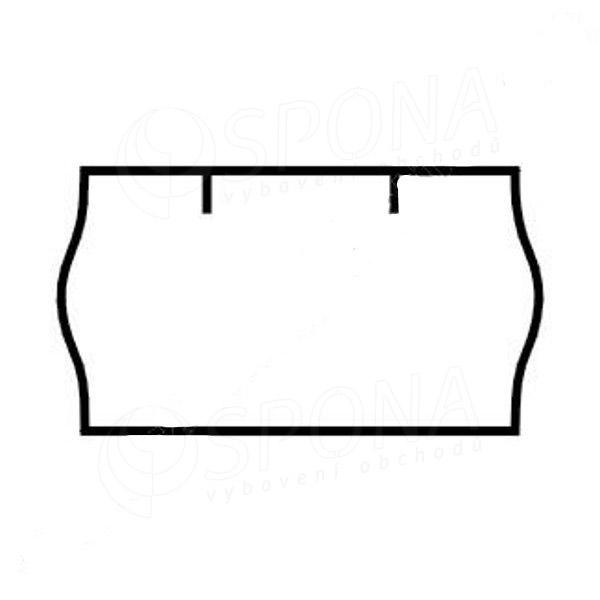 Etikety do kleští, CONTACT 22 x 12 mm, bílé