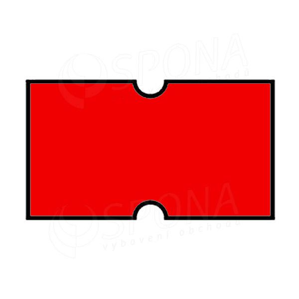 Etikety do kleští, COLA-PLY 22 x 12 mm, červené