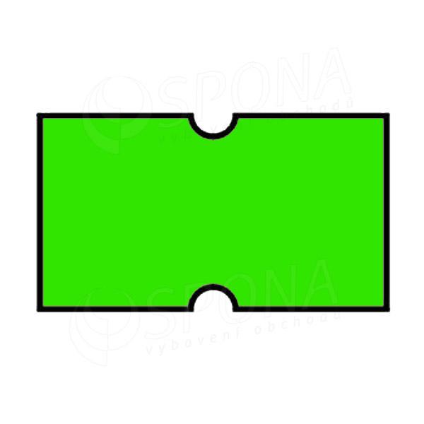 Etikety do kleští COLA-PLY, rovné, 22 x 12 mm, zelené
