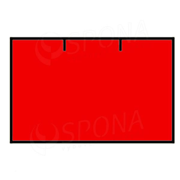 Etikety do kleští CONTACT, rovné, 25 x 16 mm, červené