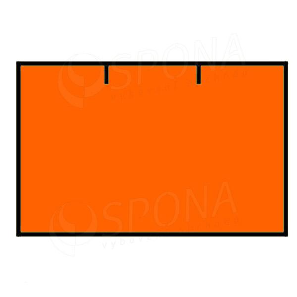 Etikety do kleští, CONTACT 25 x 16 mm, rovné, oranžové