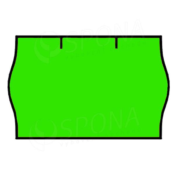 Etikety do kleští CONTACT, zaoblené, 25 x 16 mm, kulaté, zelené