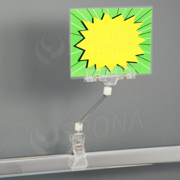 MEMO clip 100 mm, skřipec do max. průměru 25 mm