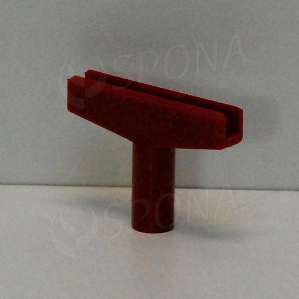 PLAKÁT-M T-kus, šířka 60 mm, červený