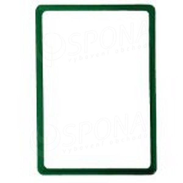 PLAKÁT rám 100, A4, zelený