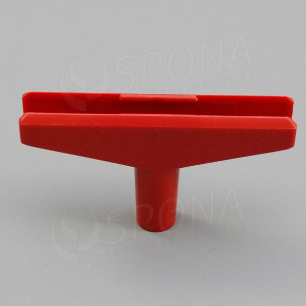 PLAKÁT T-kus 100, šířka 90 mm, červený