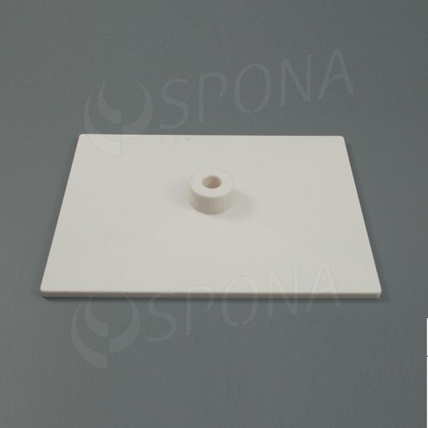 PLAKÁT K deska 20 x 15 cm, bílá