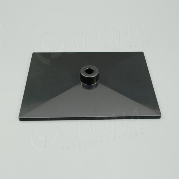 PLAKÁT K deska 20 x 15 cm, černá