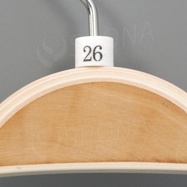 Minireitery 26, 25 ks, bílé