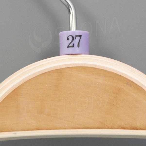 Minireitery 27, 25 ks, fialové
