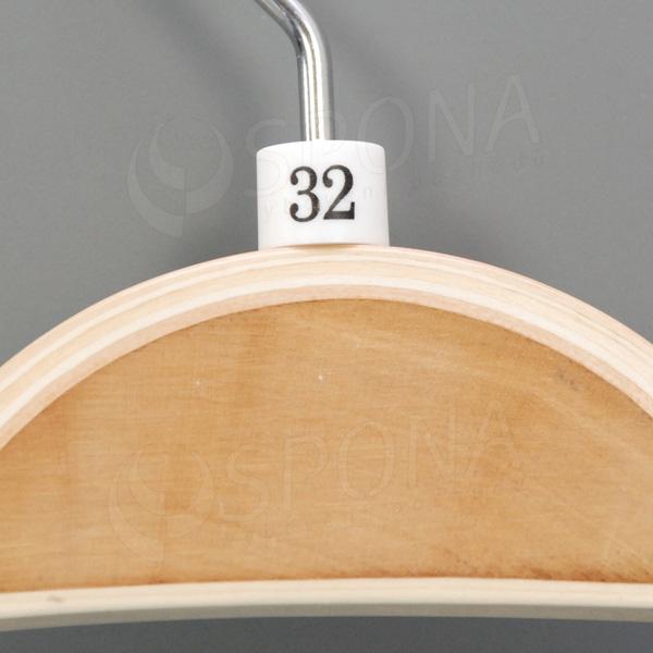 Minireitery 32, 25 ks, bílé