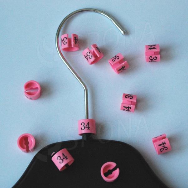 Minireitery 34, 25 ks, růžové