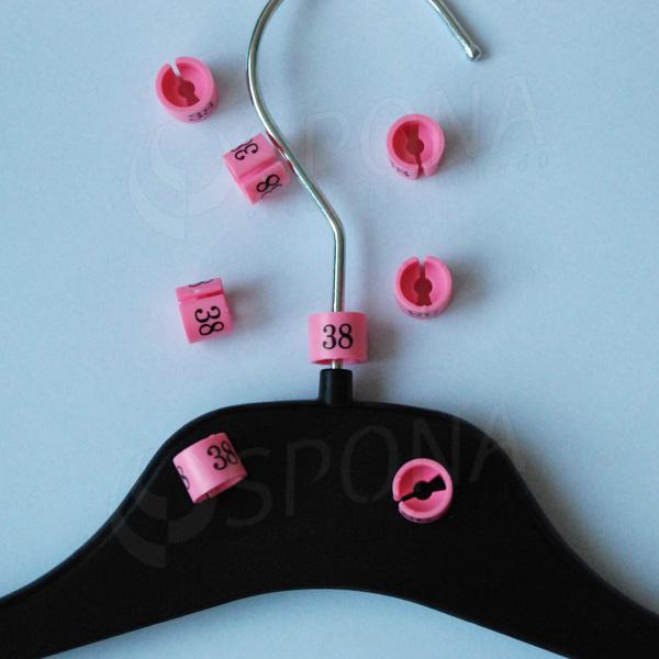 Minireitery 38, 25 ks, růžové