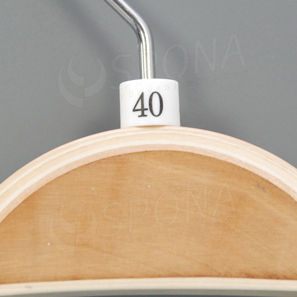 Minireitery 40, 25 ks, bílé