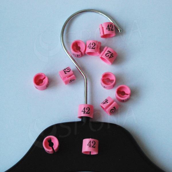 Minireitery 42, 25 ks, růžové