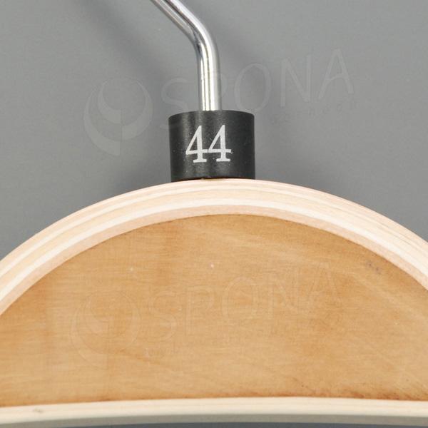 Minireitery 44, 25 ks, černé, stříbrný tisk