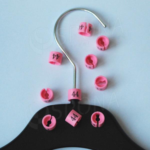 Minireitery 44, 25 ks, růžové