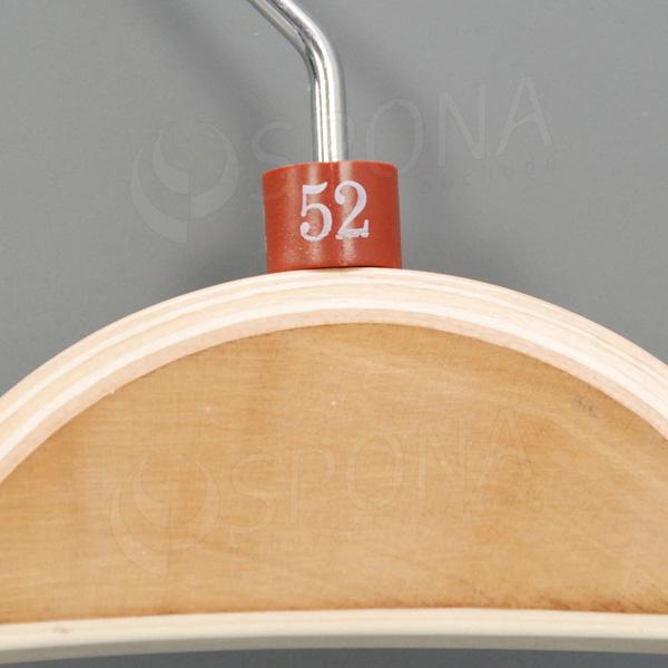 Minireitery 52, 25 ks, hnědé