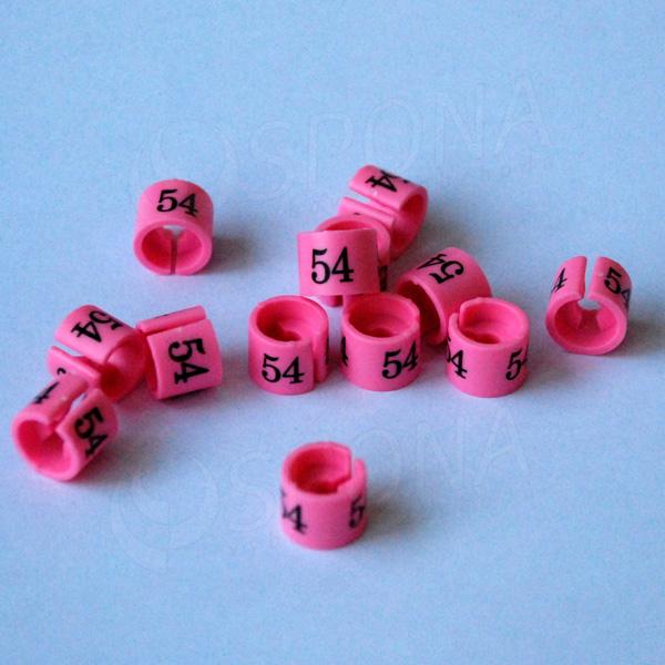 Minireitery 54, 25 ks, růžové