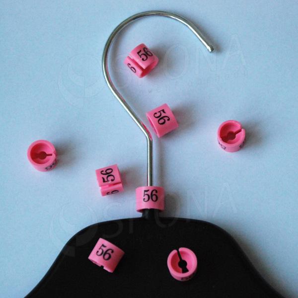 Minireitery 56, 25 ks, růžové