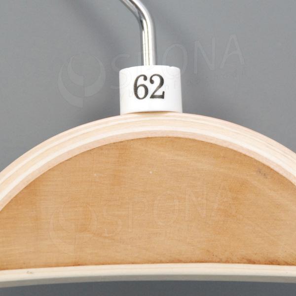 Minireitery 62, 25 ks, bílé