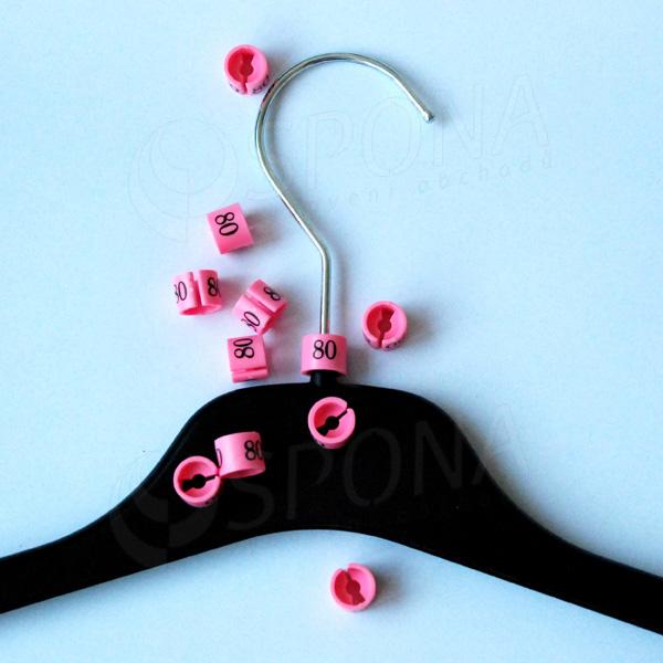 Minireitery 80, 25 ks, růžové