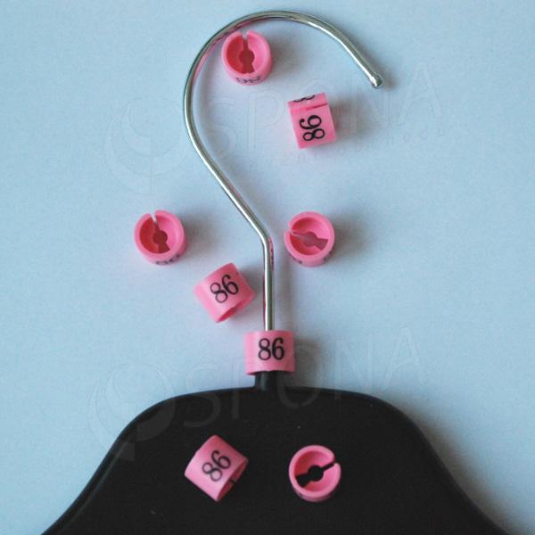 Minireitery 86, 25 ks, růžové