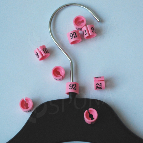 Minireitery 92, 25 ks, růžové