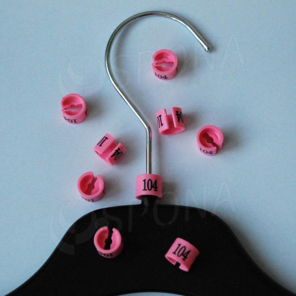 Minireitery 104, 25 ks, růžové