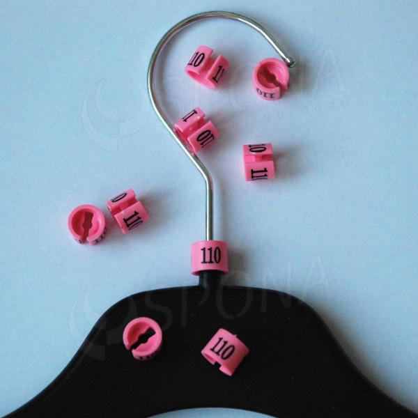 Minireitery 110, 25 ks, růžové