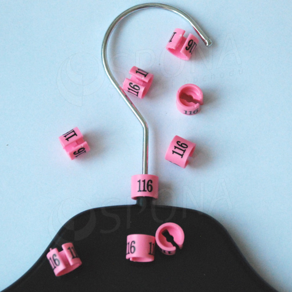 Minireitery 116, 25 ks, růžové