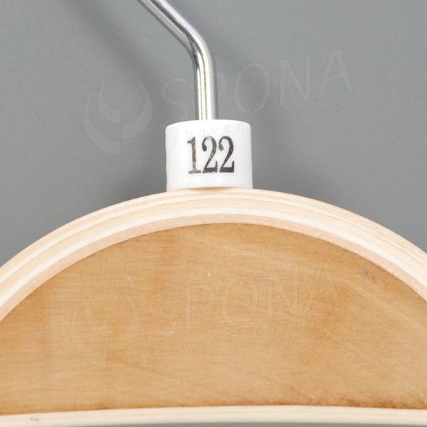 Minireitery 122, 25 ks, bílé