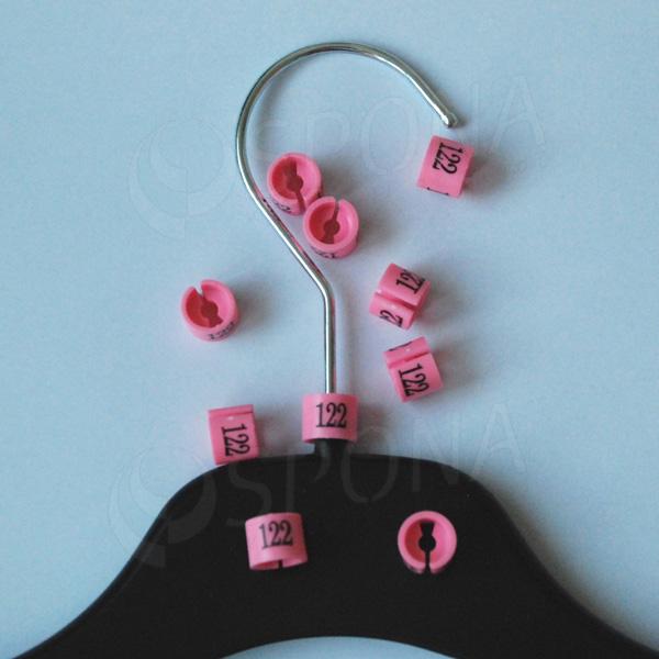 Minireitery 122, 25 ks, růžové